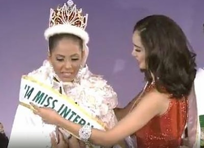 Bea Rose Santiago relinquishes Miss International crown to Miss Puerto Rico