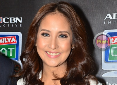 Does Jolina Magdangal feel pressured about her reunion project with Marvin Agustin?