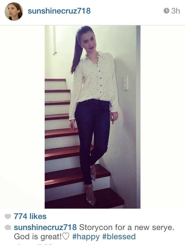 Sunshine's #OOTD for a storycon