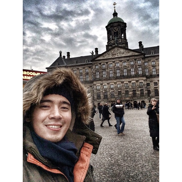 Erik Santos on a European getaway