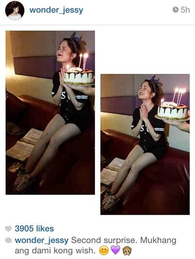 Jessy, nakatanggap ng surprise sa kanyang birthday!