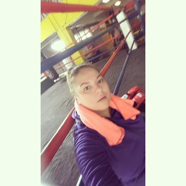Karla Estrada goes back to the gym