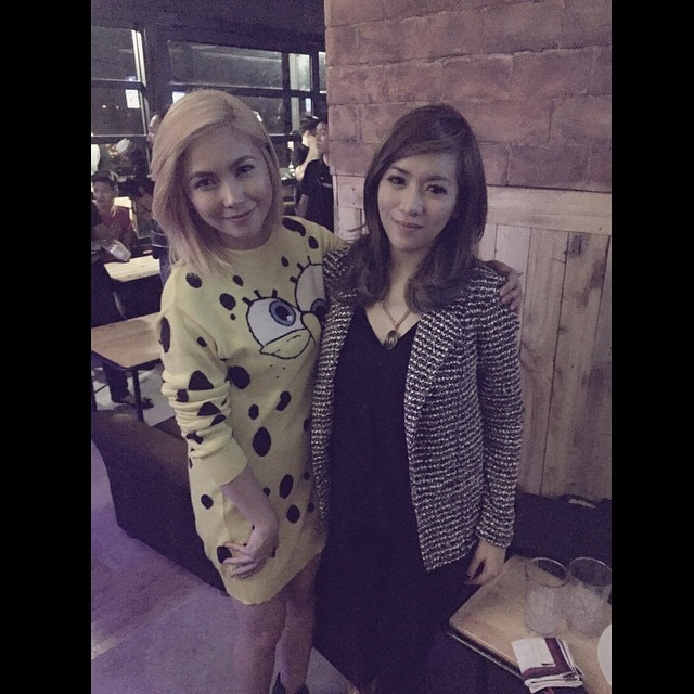Angeline greets her Yenggay a happy birthday