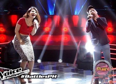 Rita Martinez and Suy Galvez fight to get a chance in The Voice Knockout Round