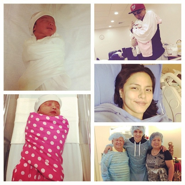 Jimmy Alapag and LJ Moreno welcome Baby Keona Skye