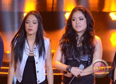 Rocker chicks Tanya and Shaira stun  with their The Voice battles performance