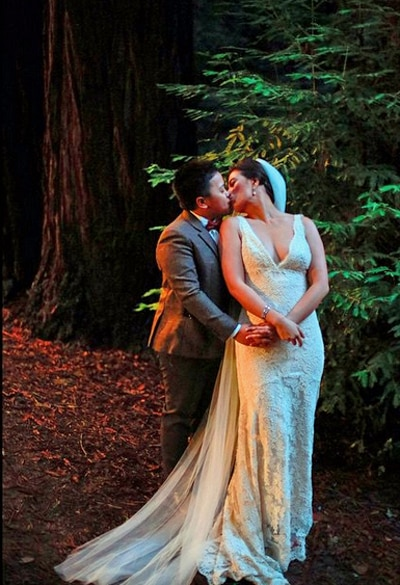 The story behind Liza Dino's wedding gown
