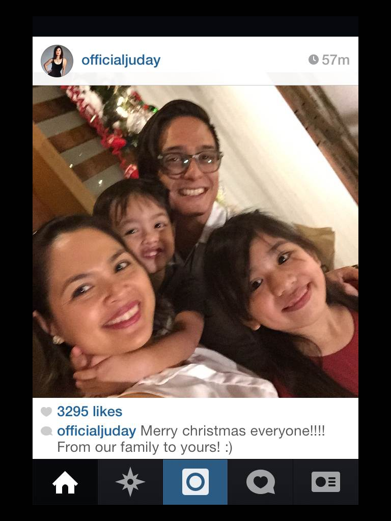 Celebs share their Chistmas memories online