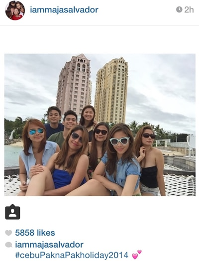 Maja is shaking it off sa Cebu