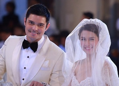 Hundreds flock to Marian-Dingdong wedding