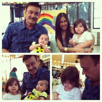 Mark Gil and his family