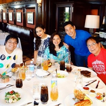 Funny Man Joey De Leon and his family