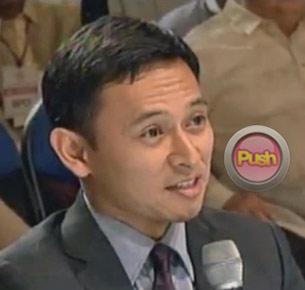 Senator Sonny Angara says he voted for Pia Wurtzbach