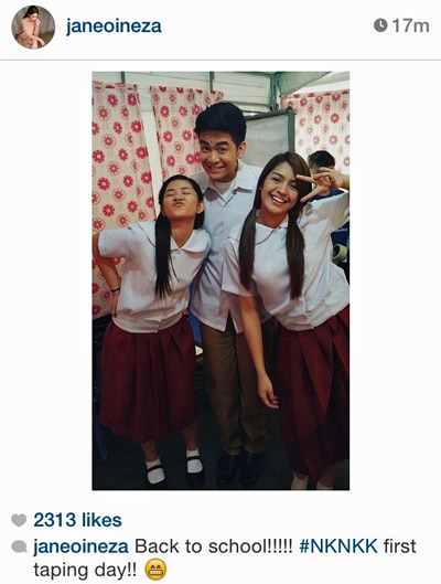 Jane, Loisa & Joshua's back to school outfits for their 1st taping day