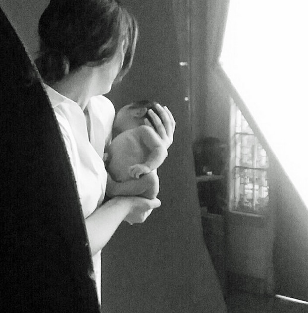 BTS: New born photoshoot with Dimples' son Alonzo Romeo Jose