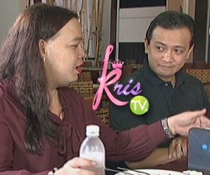 Darla voices out an LGBT concern to Sen. Trillanes