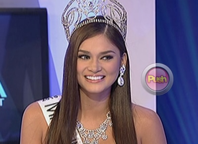 Bb. Pilipinas Universe Pia Wurtzbach says PNoy is 'fun to talk to'