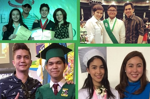 Keep up the good work: Celebrity Parents and their kids on Recognition Day