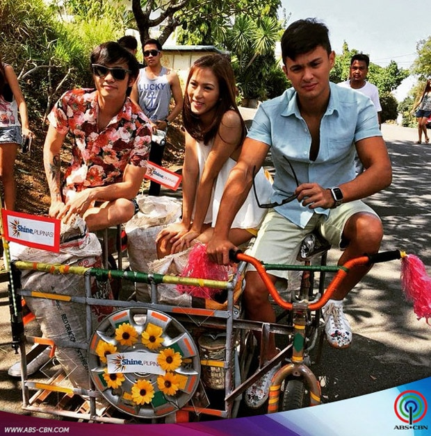 #ShinePilipinas: Mga adventures ng Inday Bote cast sa ABS-CBN Summer SID shoot