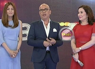 Boy Abunda explains why 'The Buzz' is going off the air