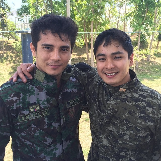 Coco Martin and Angel Locsin to star in SAF 44 story for 'MMK'