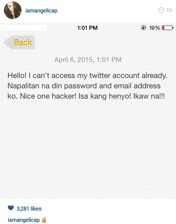 Hackers target Angelica Panganiban and Daniel Padilla's social media accounts