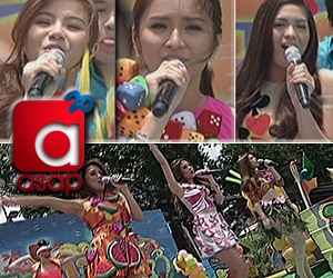 Kathryn, Miles, Jane, Toni, Nikki and Kim sing Katy Perry songs on ASAP20