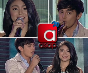 JaDine's kilig prod on ASAP20