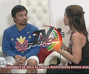 Manny Pacquiao, LIVE!