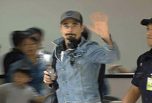 Backstreet Boys arrive in Manila