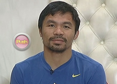 Pacquiao says Mayweather was punching and pulling on his injured shoulder