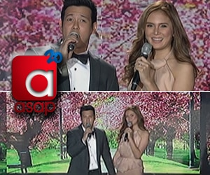 John and Isabel's wedding send -off party on ASAP20