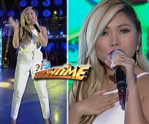 "Yeng Constantino humataw ng ""I Really Like You"" ni Carly Rae Jepsen sa It's Showtime"