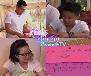 Ang preparasyon para sa Mother's Day surprise for Kris na puno ng pagmamahal