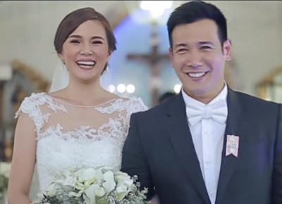 Kilig love story of John Prats and Isabel Oli told in their wedding video