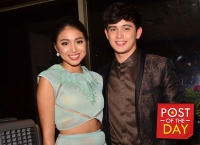 "JaDine kulitan sa US presents ""James Reid look in your eyes"""