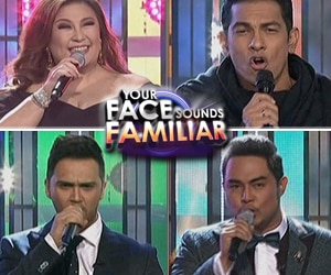 Your Face Sounds Familiar Grand Showdown OpeningNumber: Sharon Cuneta, Gary Valenciano, Jed Madela a