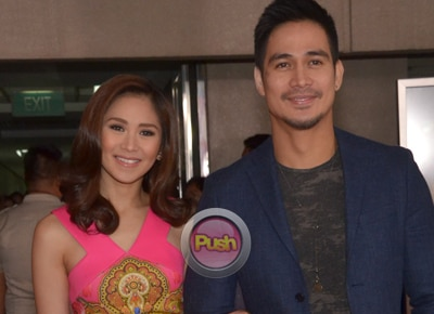 Sarah Geronimo and Piolo Pascual describe their working experience in 'The Breakup Playlist'