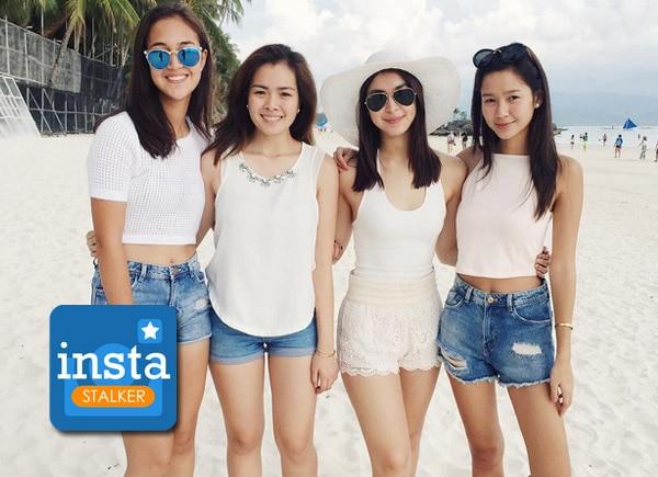 Instastalker: Julia Barretto enjoys Boracay with friends