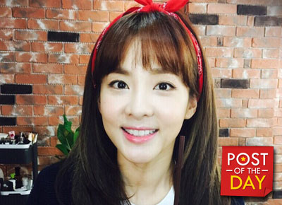 Sandara Park is a tour guide to her friends