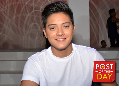 Throwback Thursday: When Daniel Padilla was still a baby