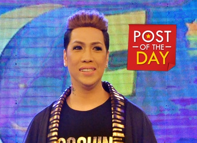 Who is the angel that makes Vice Ganda smile?