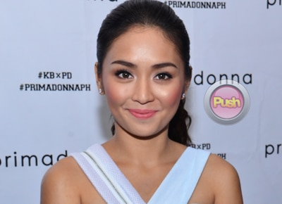 Is there rivalry between Kathryn Bernardo and newbie actress Sarah Carlos?