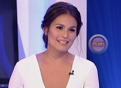 Iza Calzado gets surprised by boyfriend on 'Aquino and Abunda Tonight'
