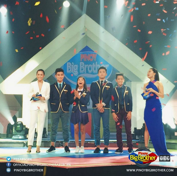 LOOK: PBB 737 Teen Big 4 around ABS-CBN