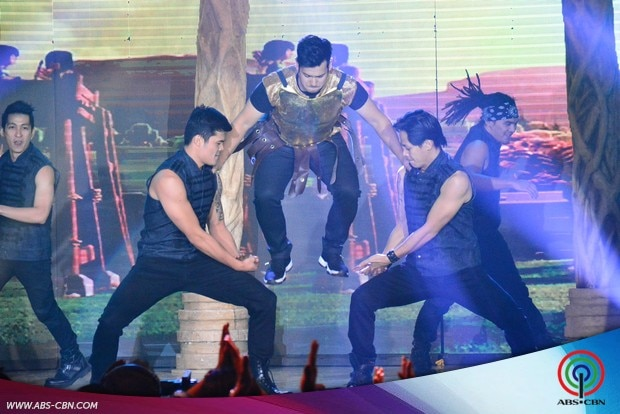 23 ASAP stars in  Clash of Clans Costume heat up ASAP dance floor.jpg