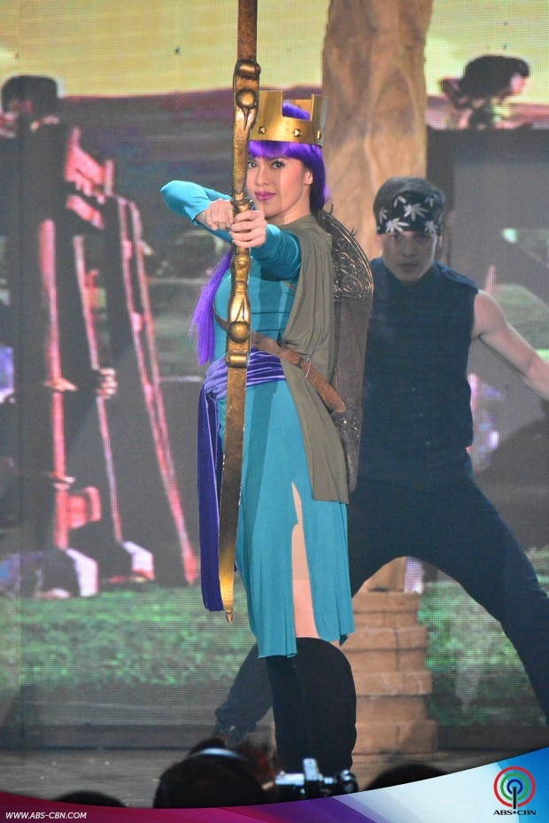 29 ASAP stars in  Clash of Clans Costume heat up ASAP dance floor.jpg