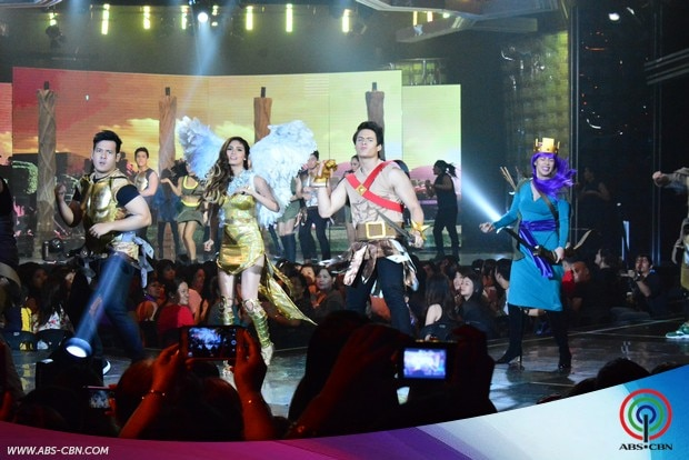 33 ASAP stars in  Clash of Clans Costume heat up ASAP dance floor.jpg