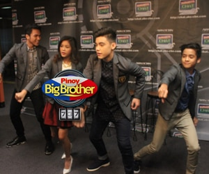 PBB 737 Teen Big 4 dance to