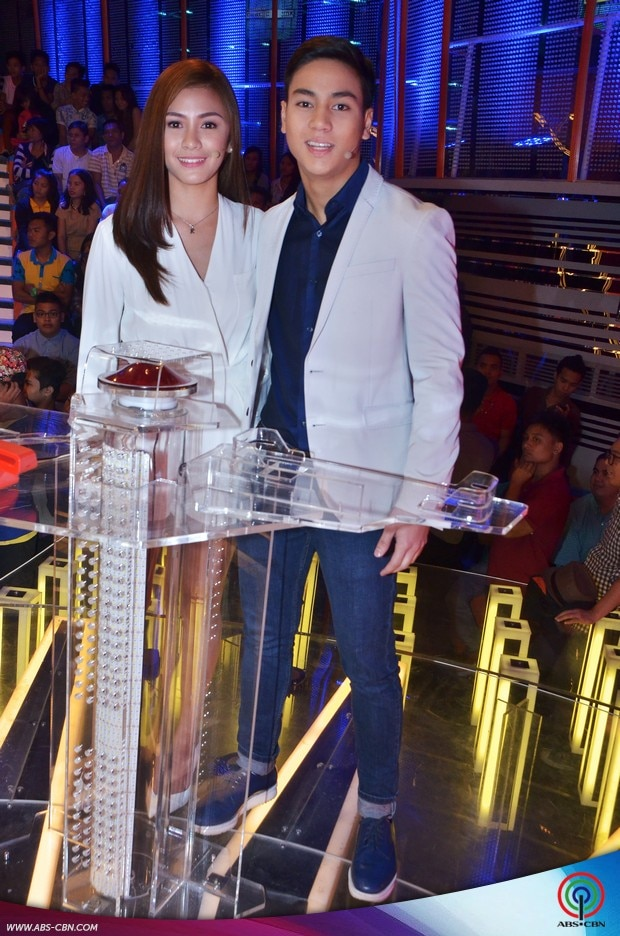 PHOTOS: PBB Ex-housemates Kamille and Kenzo on Kapamilya Deal or No Deal